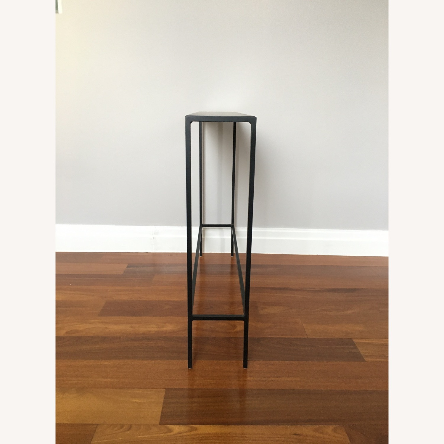 Room & Board Slim Console Table Natural Steel - image-4