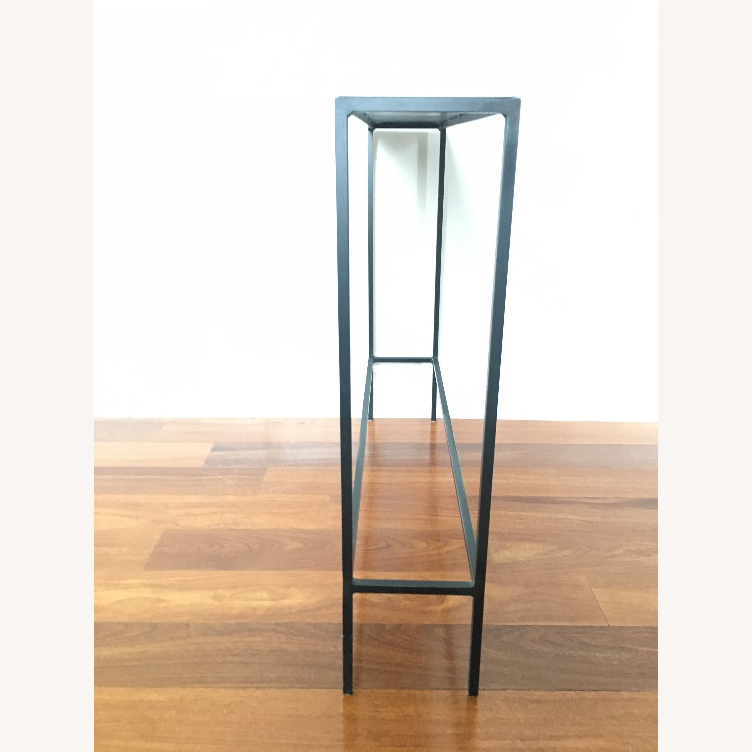 Room & Board Slim Console Table Natural Steel - image-5