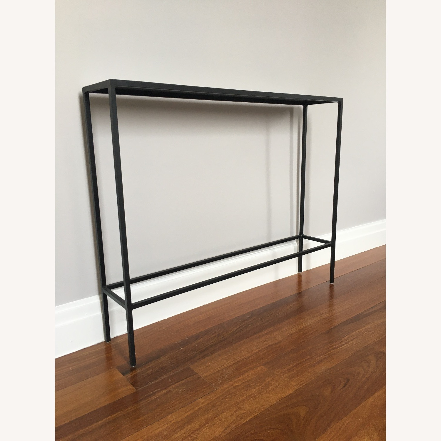 Room & Board Slim Console Table Natural Steel - image-2