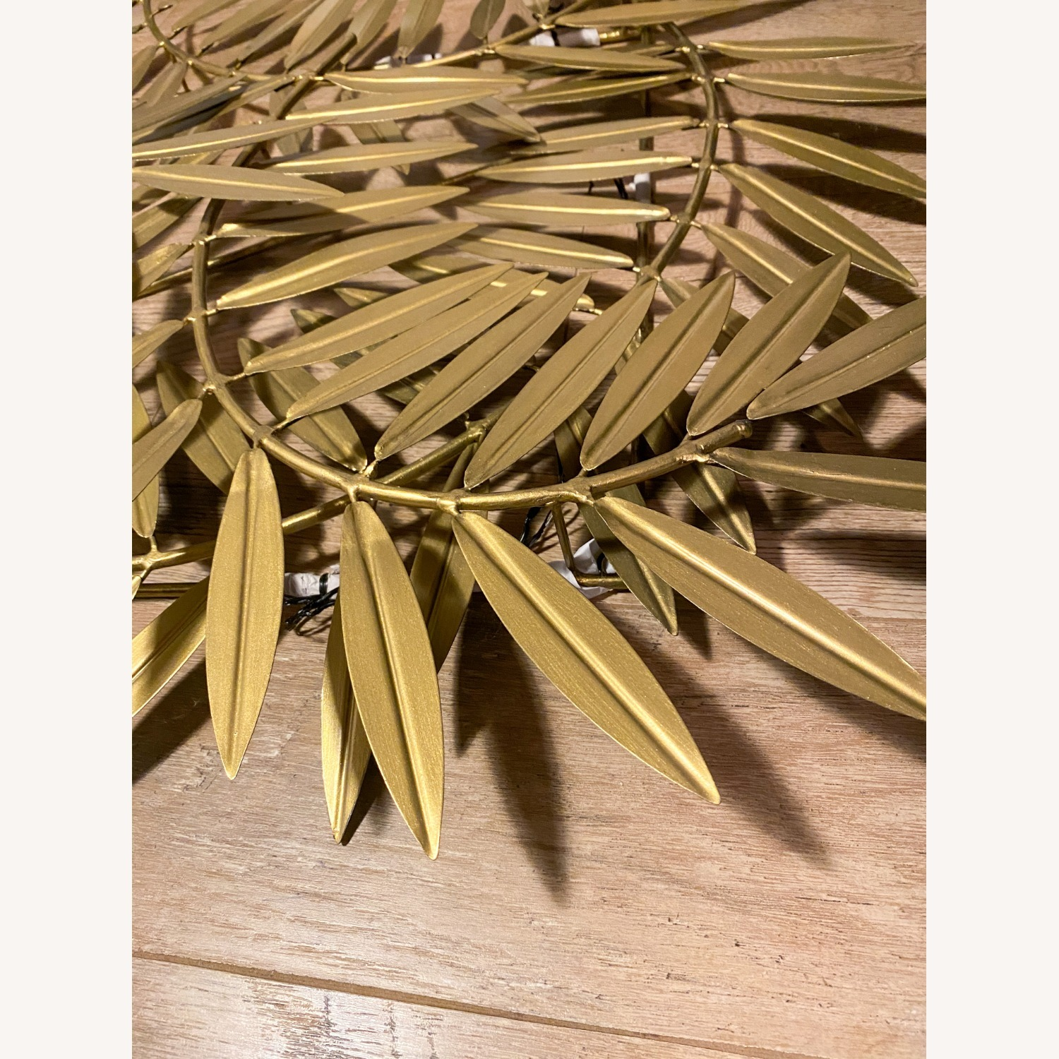 CB2 Ceres Leaves Wall Decor Gold - image-5
