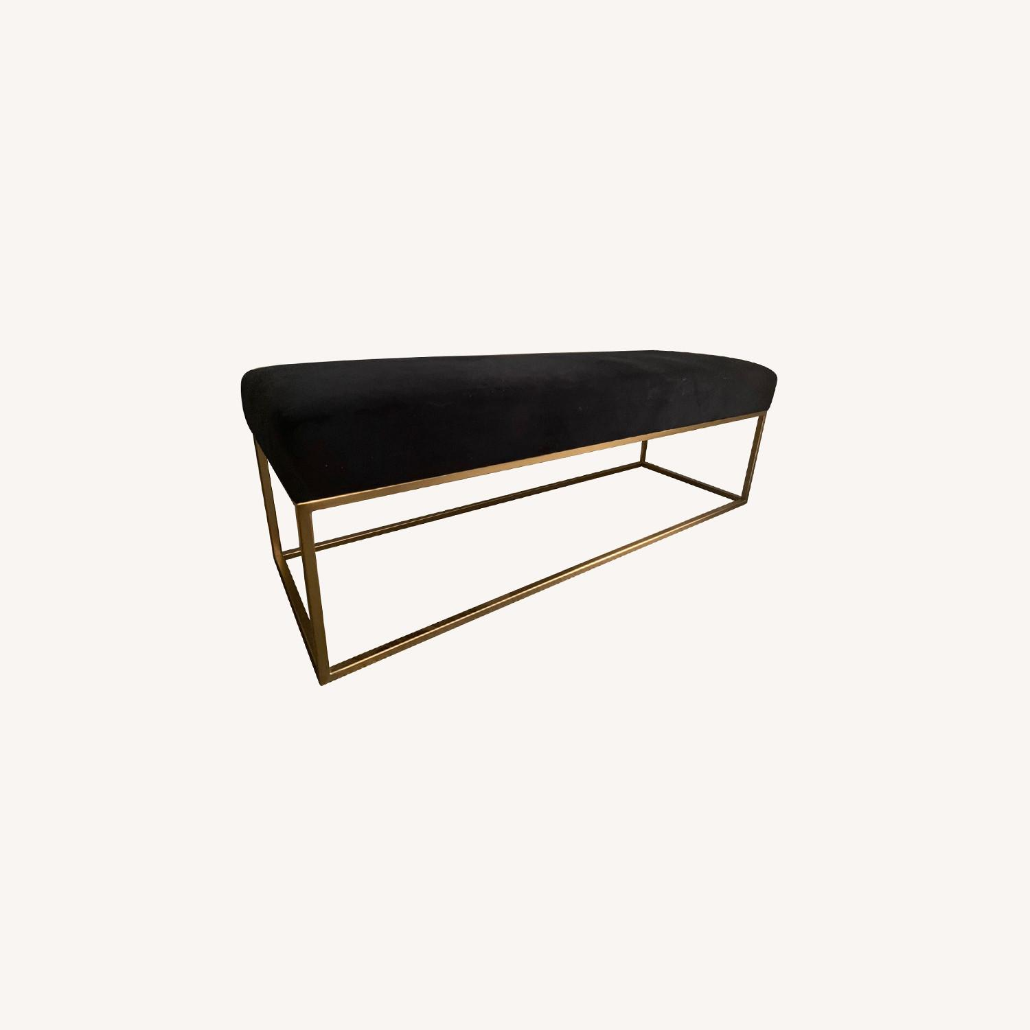West Elm Box Frame Bench - image-0