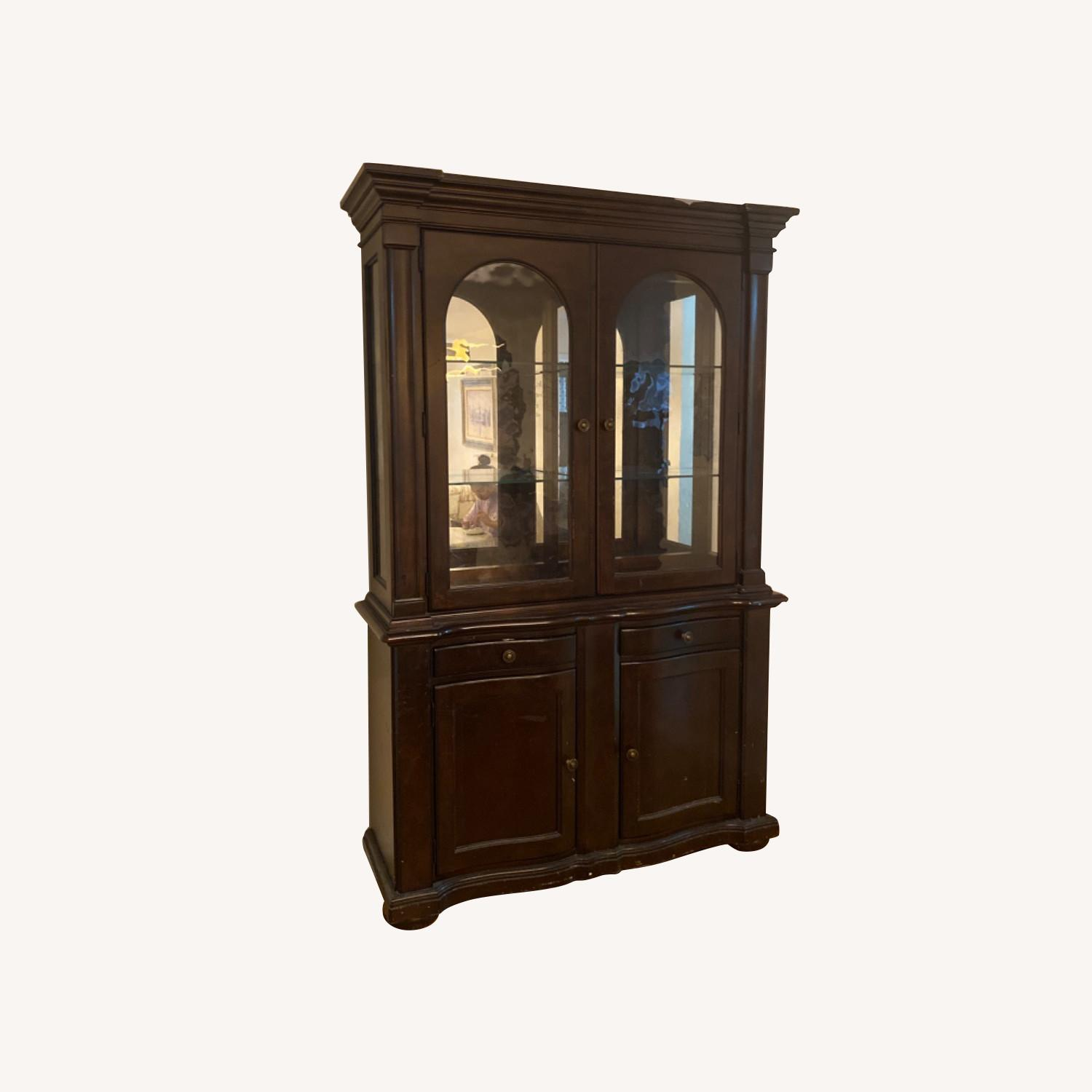 Bay View Furniture China Cabinet - image-0