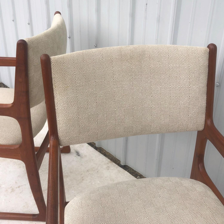 Set of Six Mid-Century Teak Dining Chairs - image-12