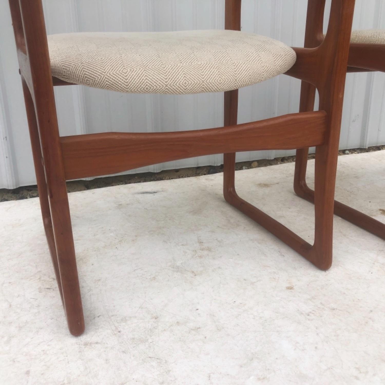 Set of Six Mid-Century Teak Dining Chairs - image-14