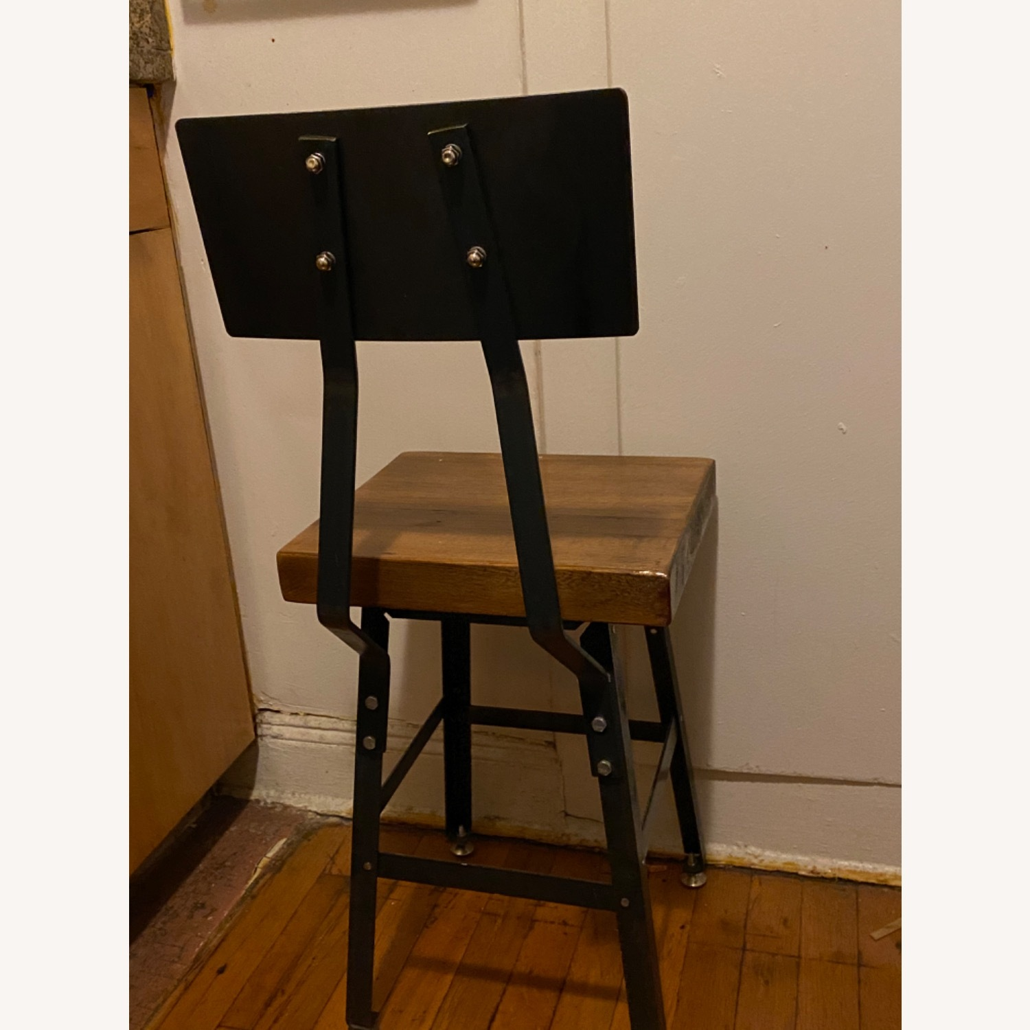 Handmade Reclaimed Solid Wood Dining Chair Set - image-2