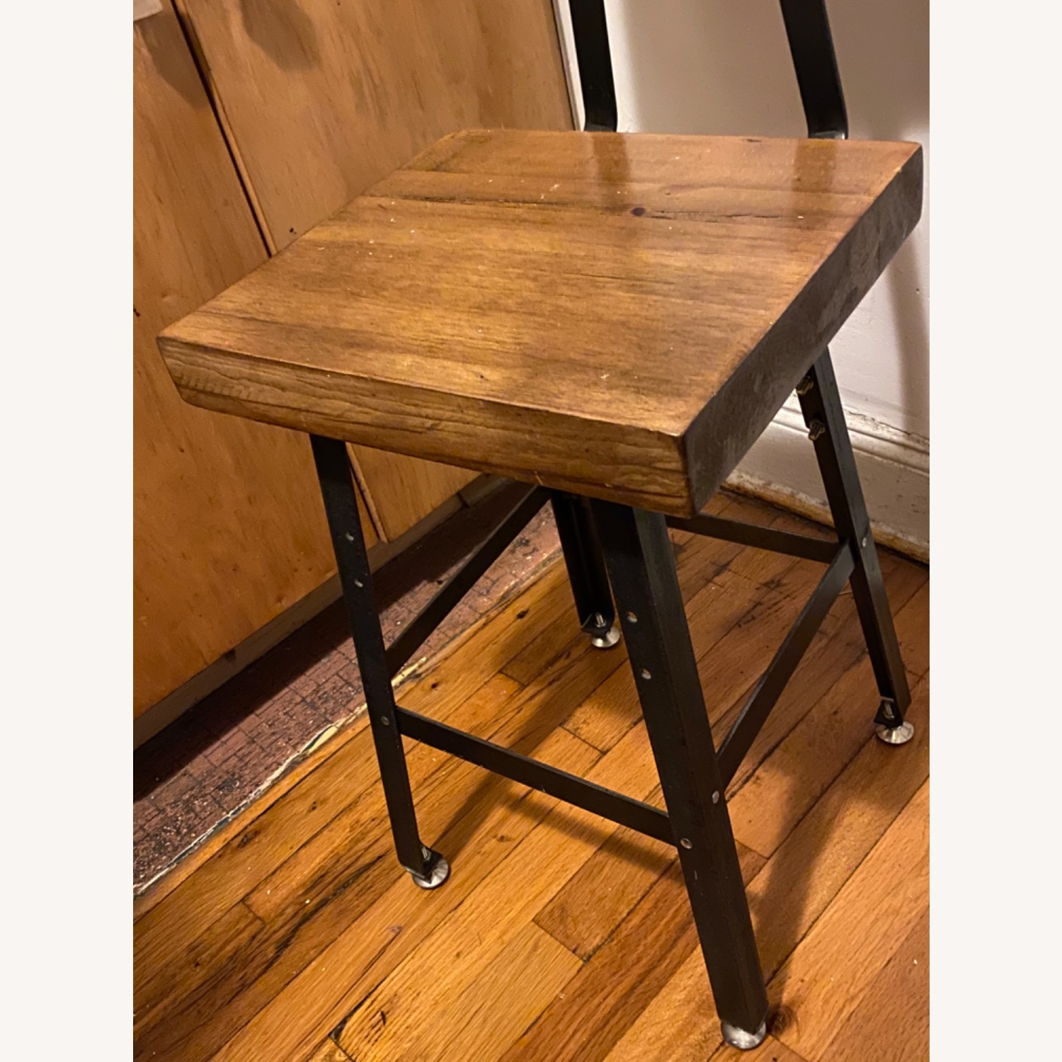 Handmade Reclaimed Solid Wood Dining Chair Set - image-4