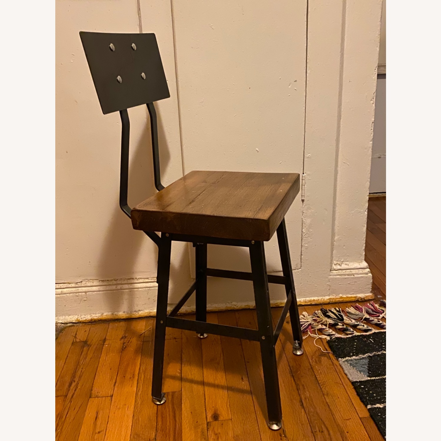 Handmade Reclaimed Solid Wood Dining Chair Set - image-1