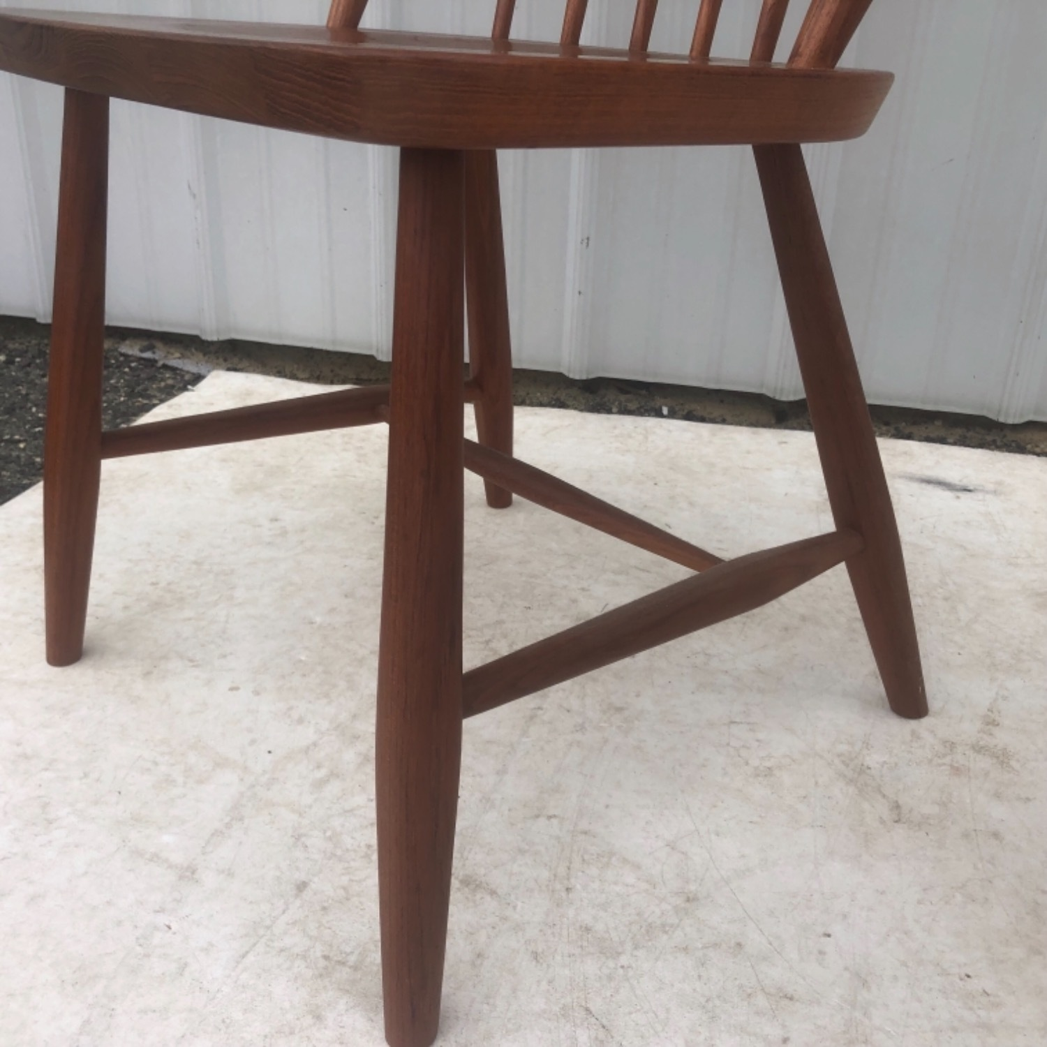 Vintage Modern Dining Set w/ Six Chairs - image-20
