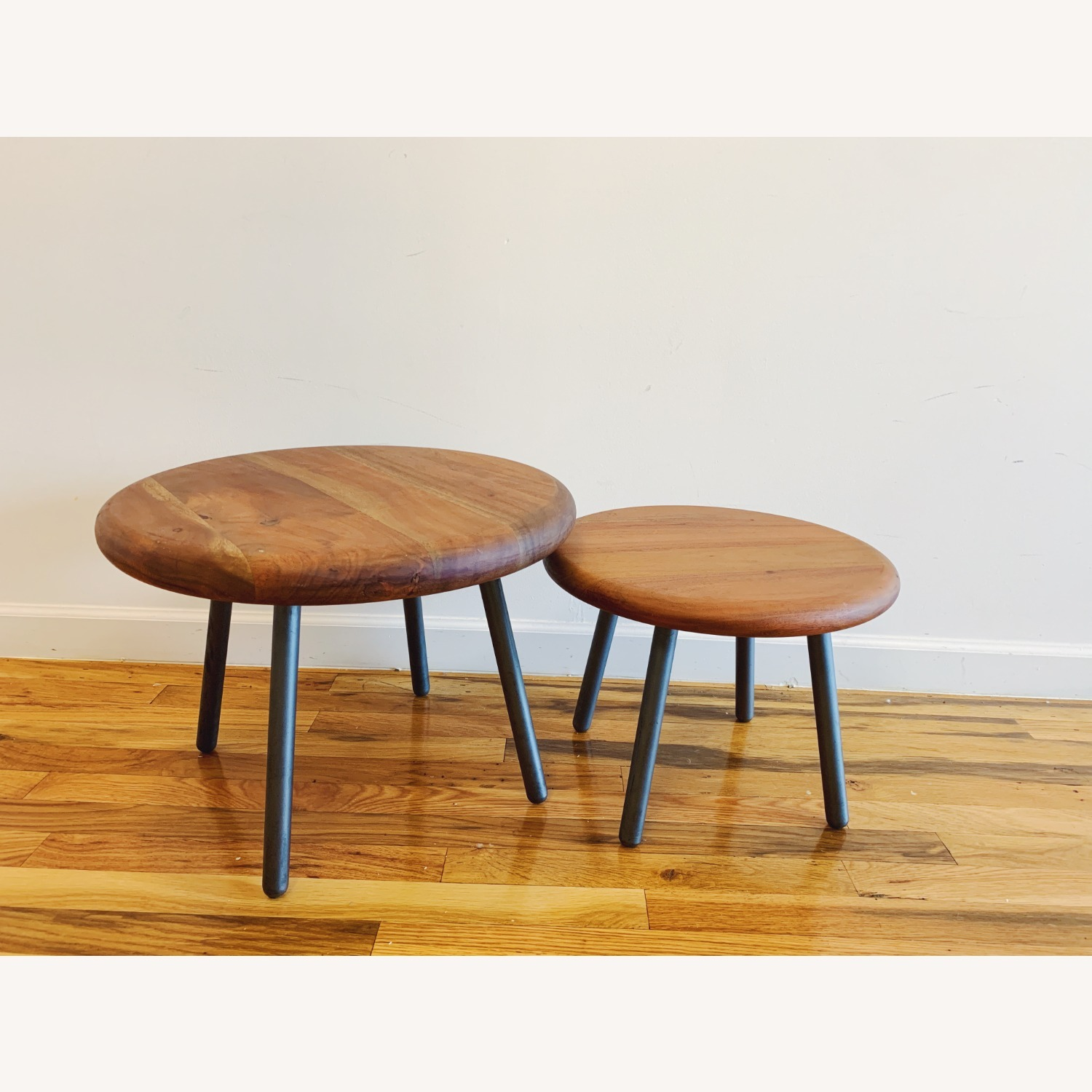CB2 Wafer 2 Piece Nesting Table Set - image-2