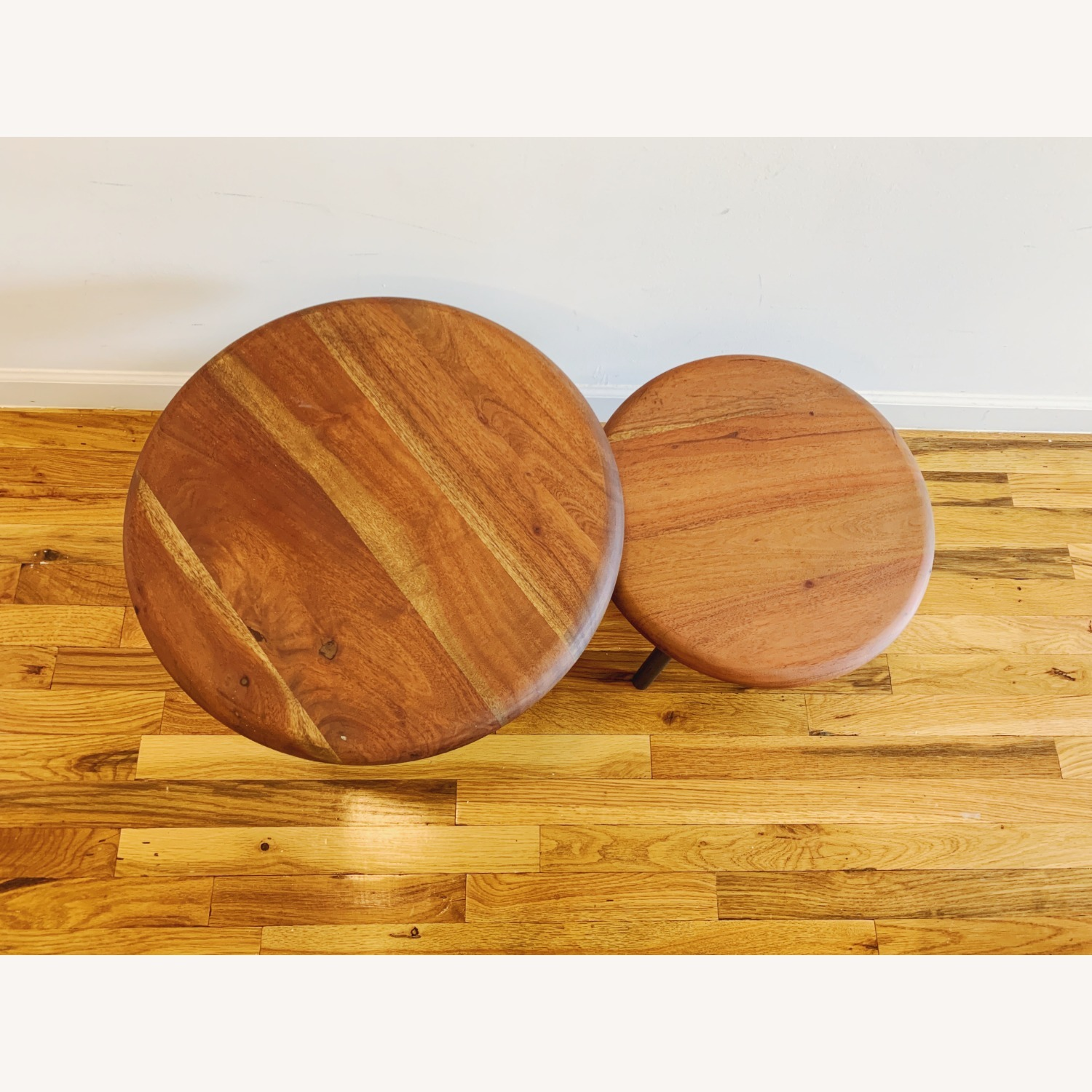 CB2 Wafer 2 Piece Nesting Table Set - image-3
