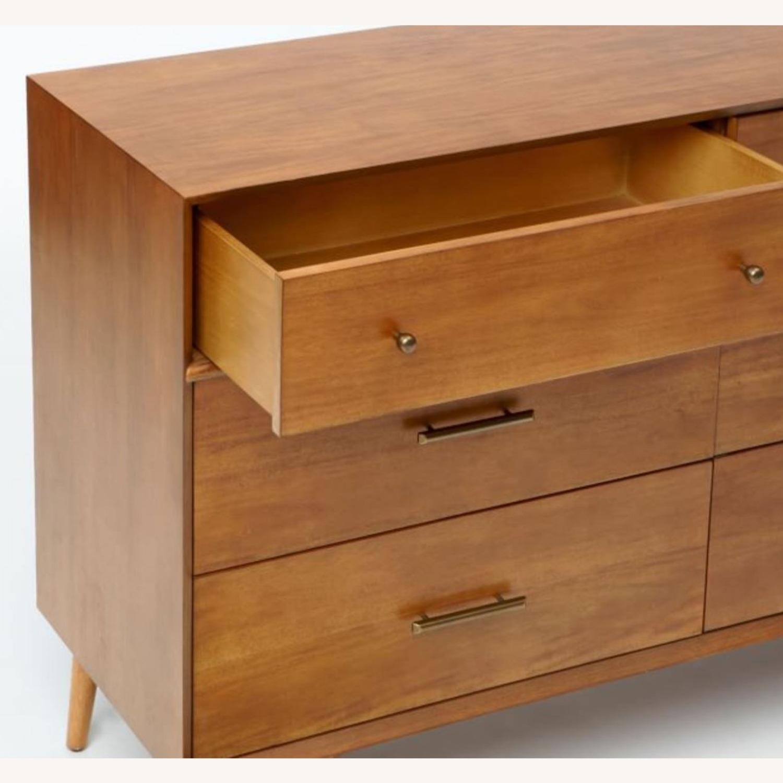 West Elm Mid-Century 6-Drawer Dresser - Acorn - image-3
