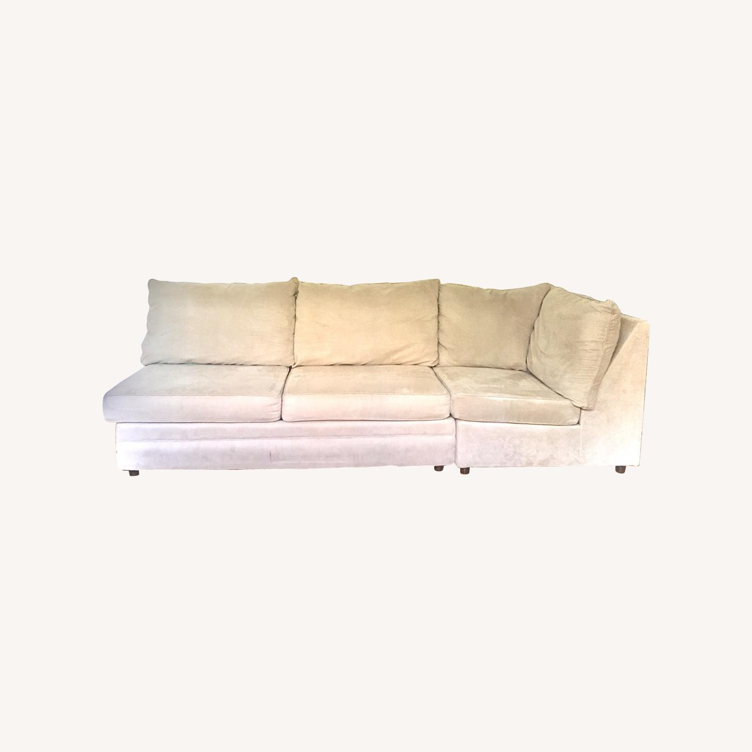 Bob's Discount Grey Two Piece Sofa - image-0