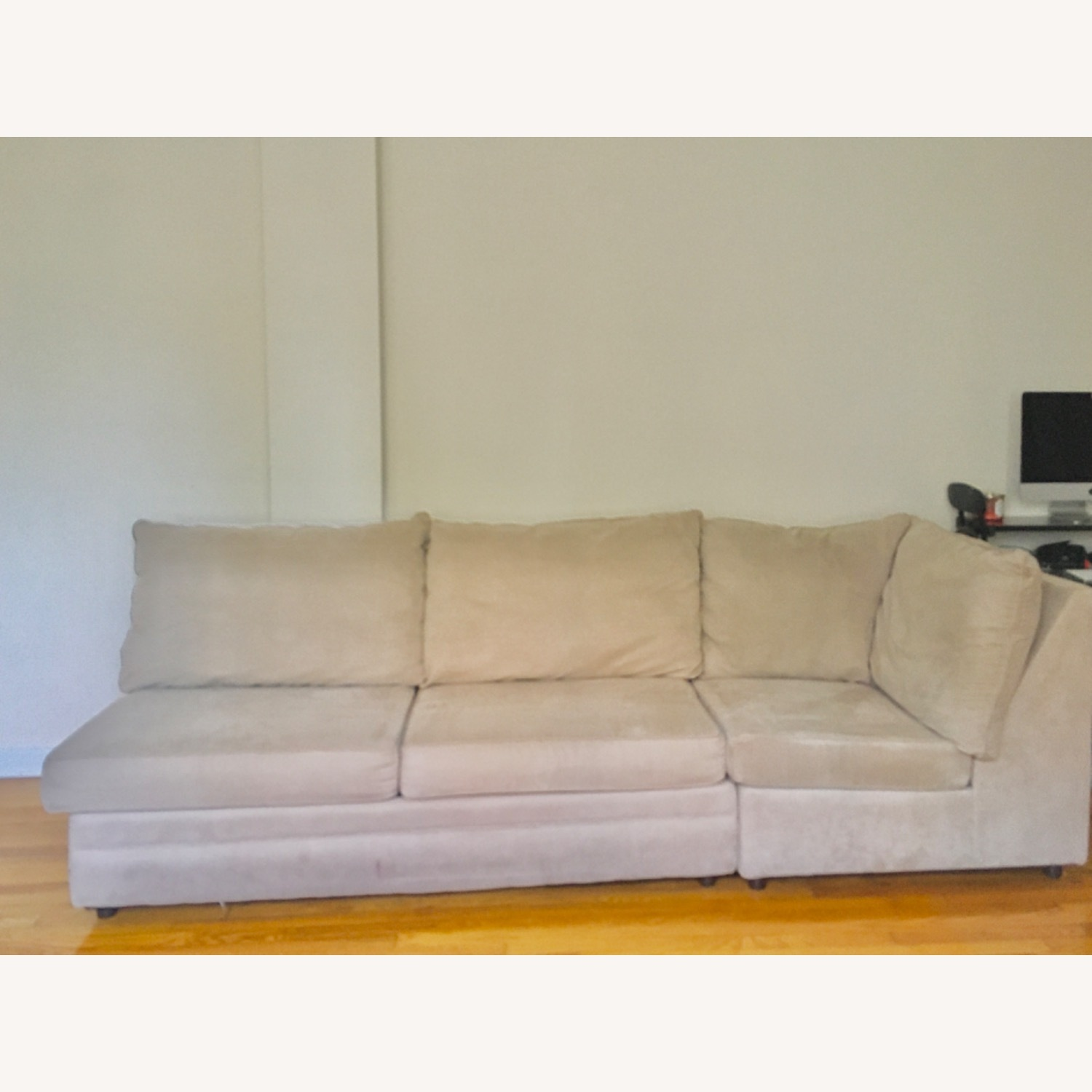 Bob's Discount Grey Two Piece Sofa - image-3