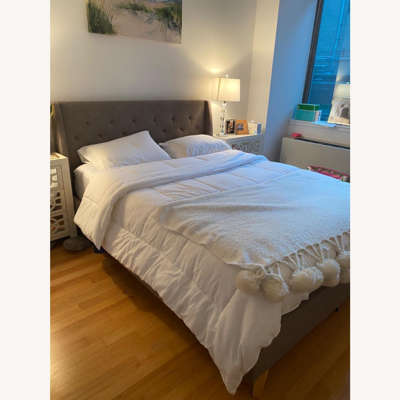 Wayfair Novogratz Queen Platform Bed - AptDeco