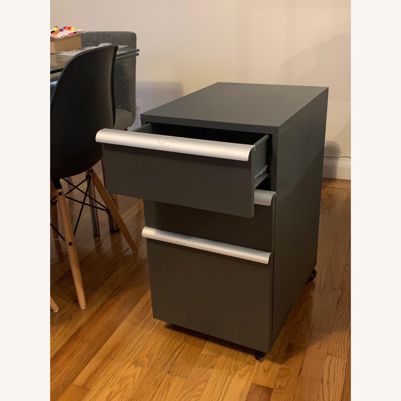 Crate & Barrel Filing Cabinet Desk Drawers - image-3