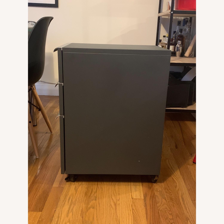 Crate & Barrel Filing Cabinet Desk Drawers - image-4