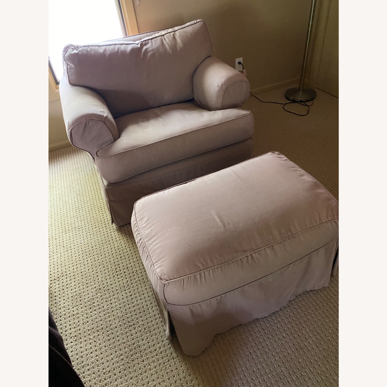 Paris Studio Down Oversized Shabby Chic Chair - image-3