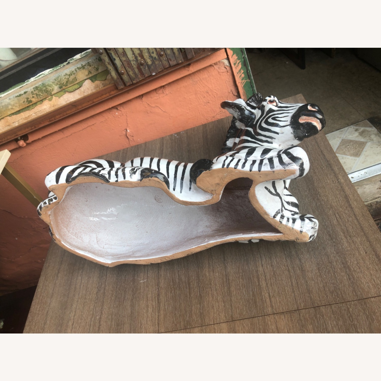 Vintage 1960s Ceramic Zebra Made in Italy - image-11