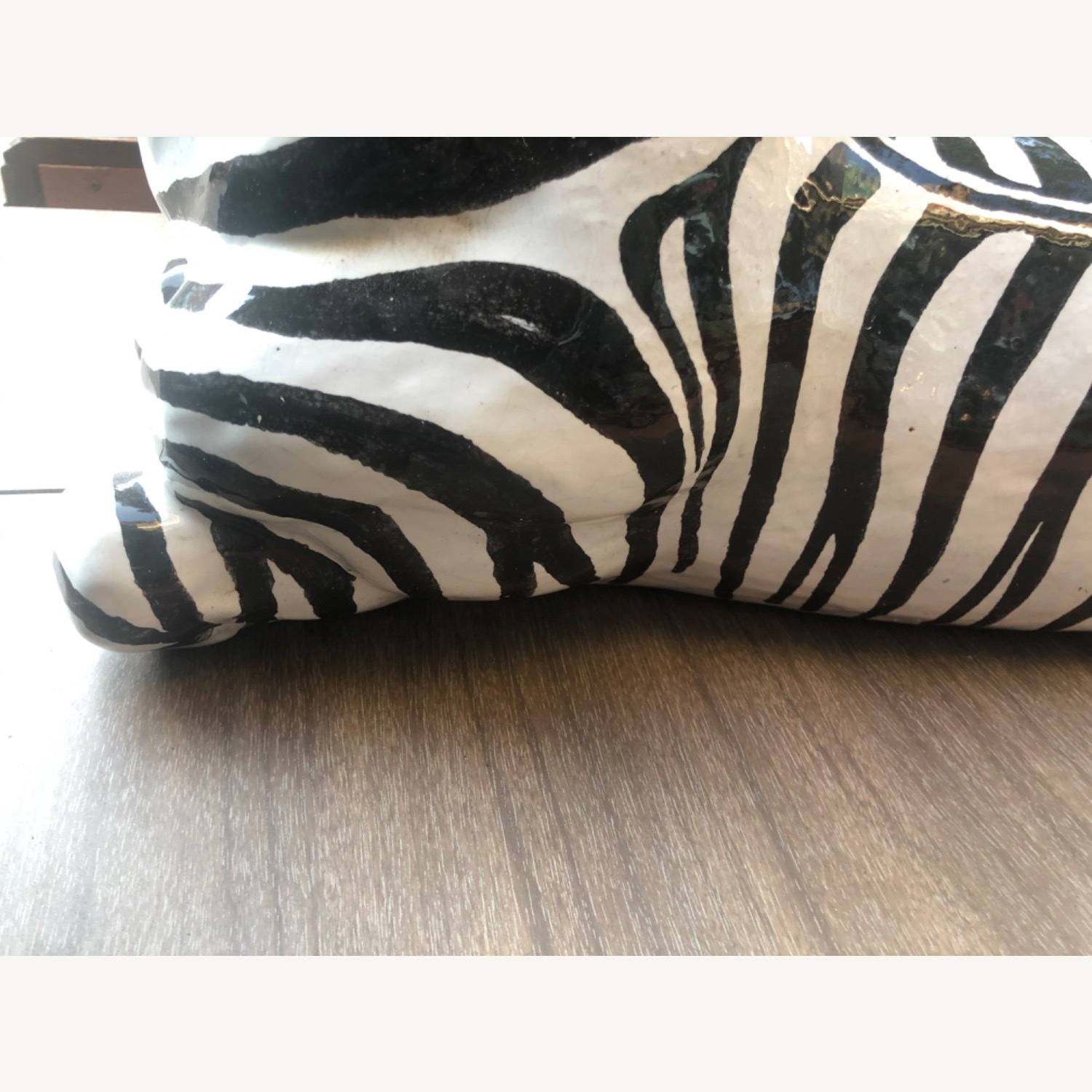 Vintage 1960s Ceramic Zebra Made in Italy - image-10