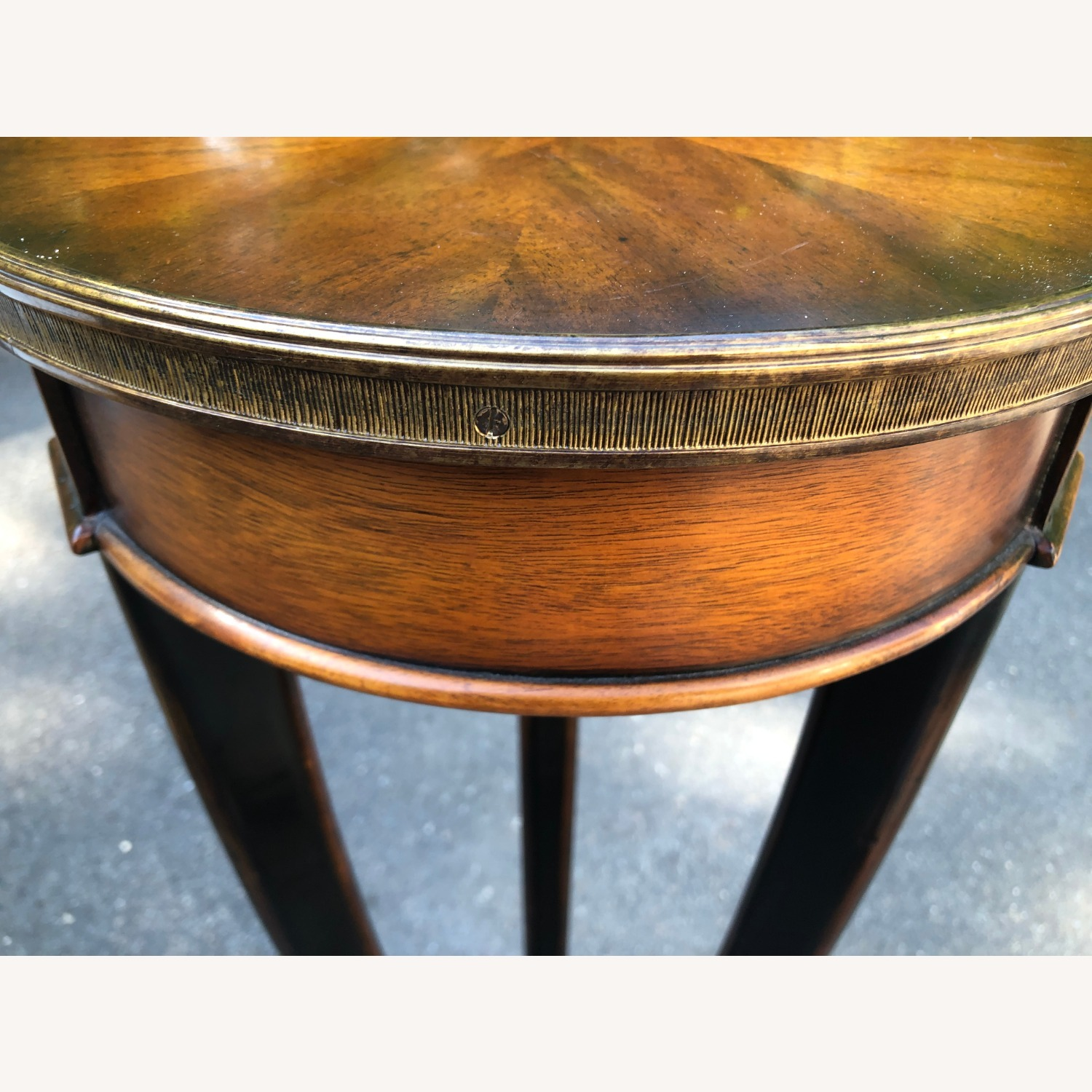 20th Century Traditional Wood Plant Stand - image-4