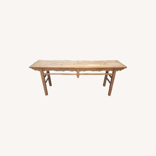 Used Lillian August Antique Console Table for sale on AptDeco