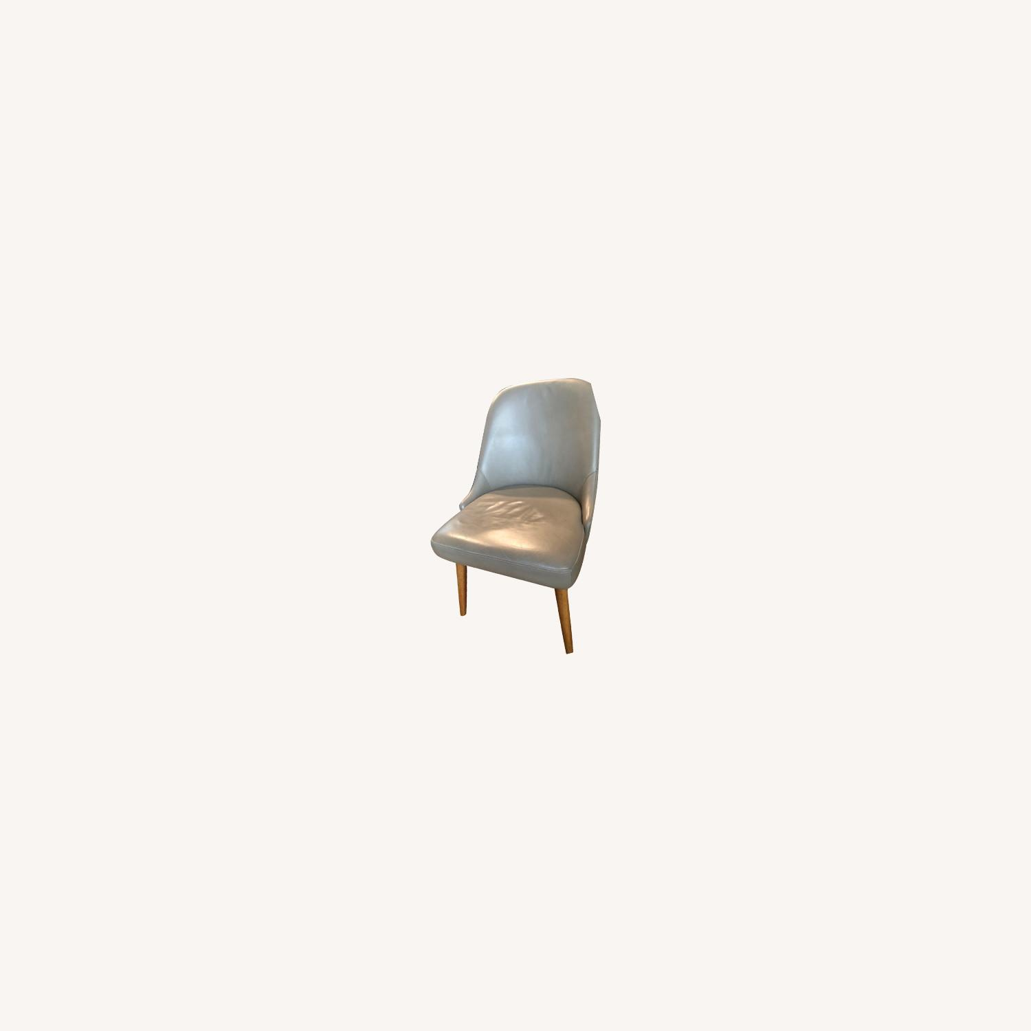 West Elm Mid Century Upholster Chair - image-0