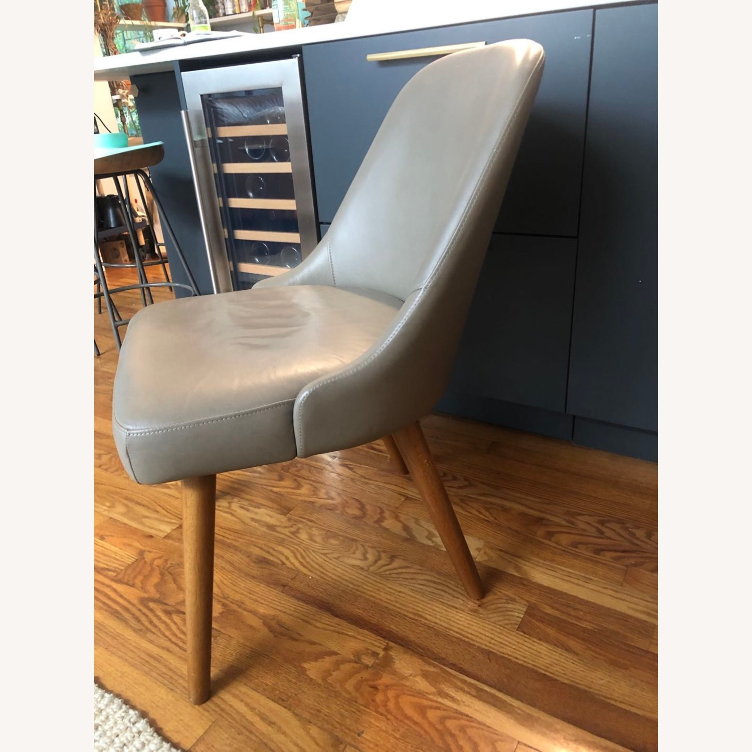 West Elm Mid Century Upholster Chair - image-2