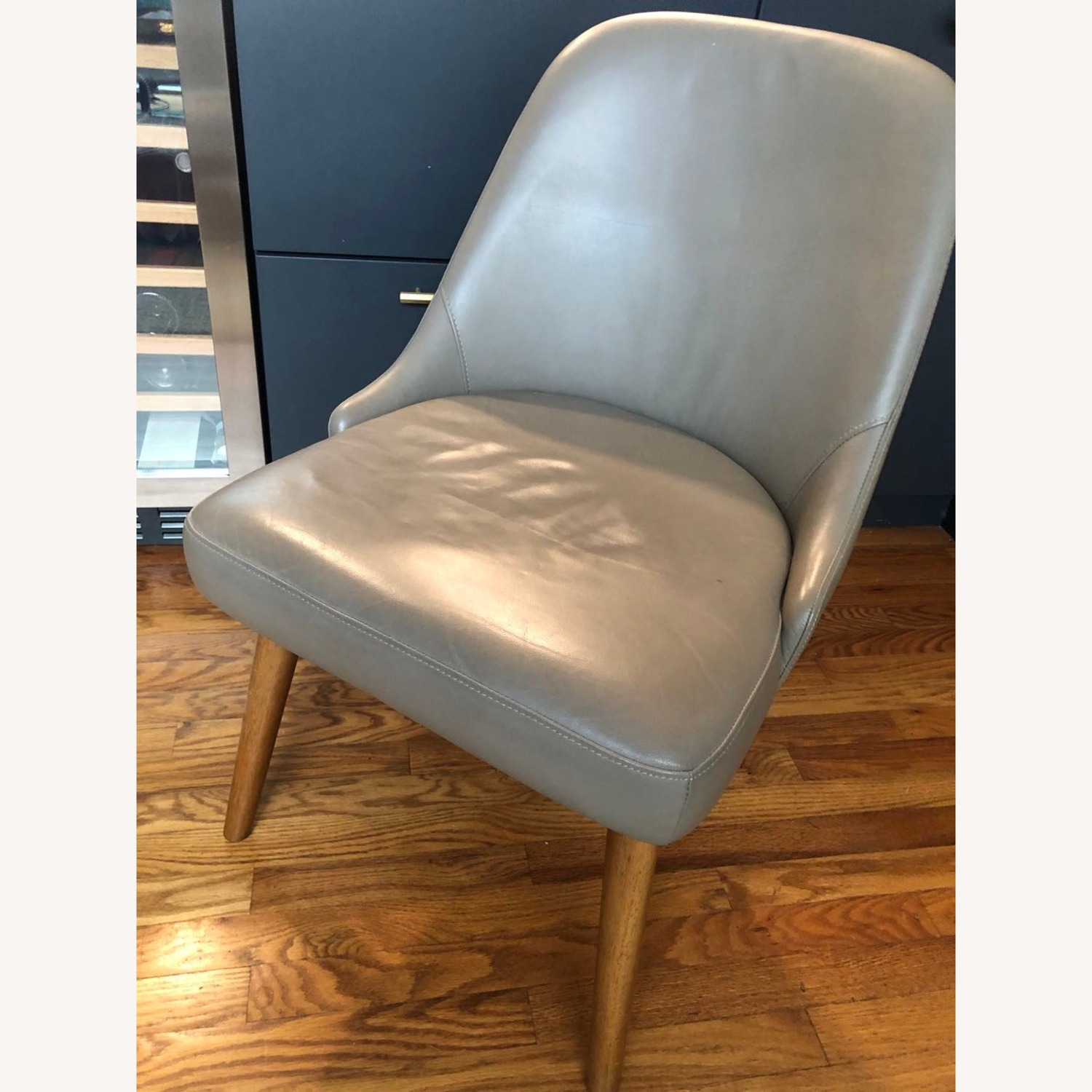 West Elm Mid Century Upholster Chair - image-1