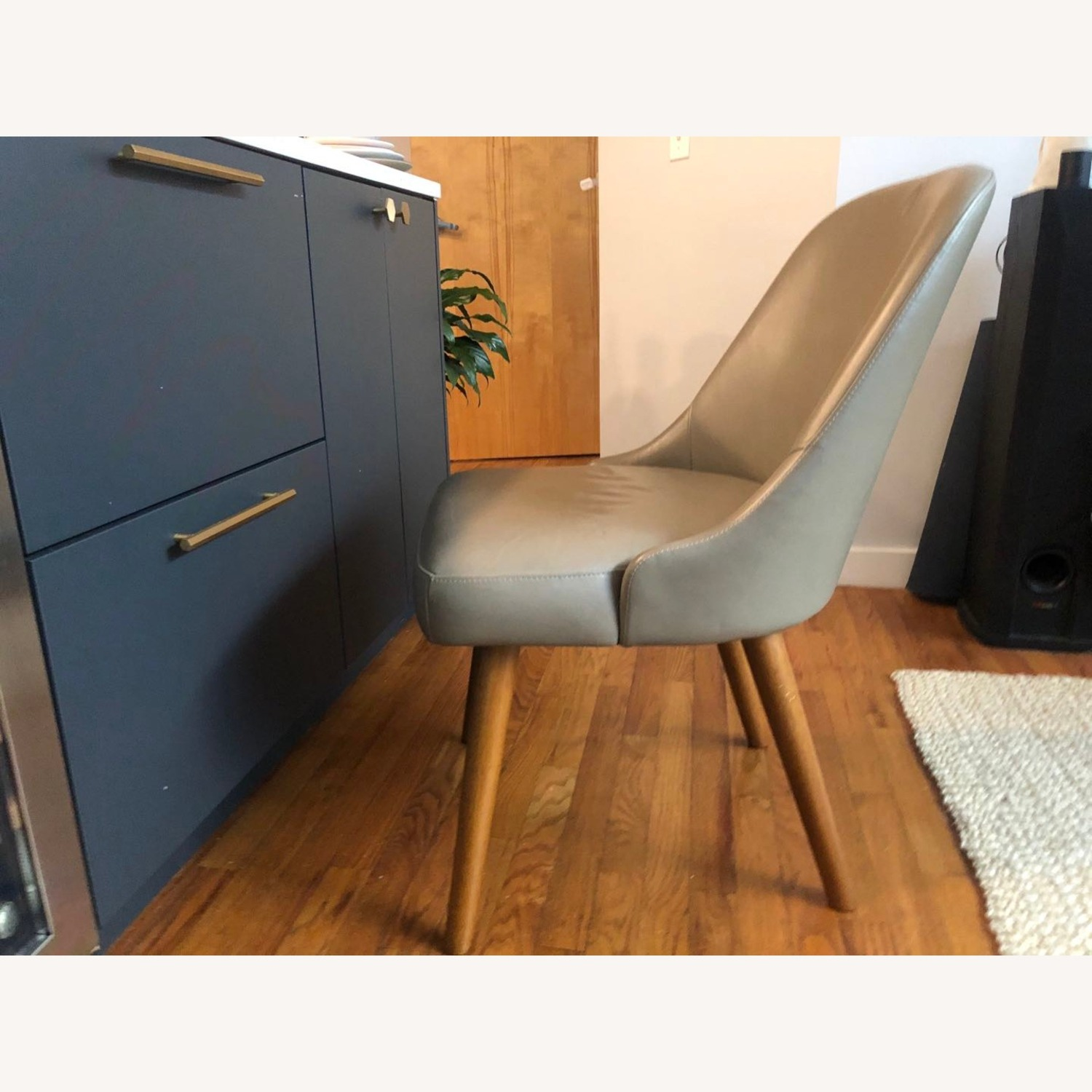 West Elm Mid Century Upholster Chair - image-3