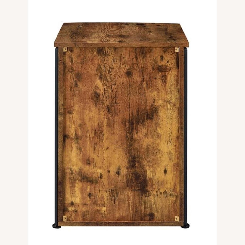 3-Drawer Cabinet In Antique Nutmeg Finish - image-2
