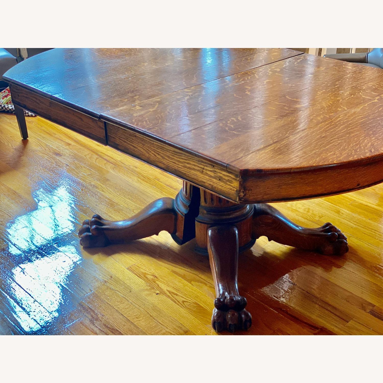Antique Lion Leg Table - image-2