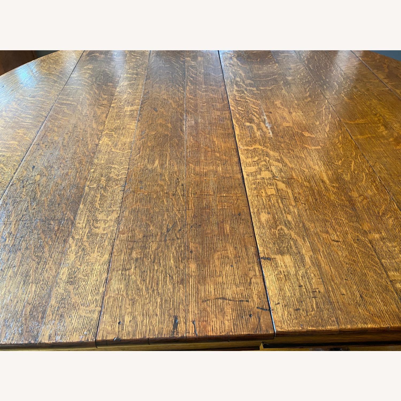 Antique Lion Leg Table - image-4