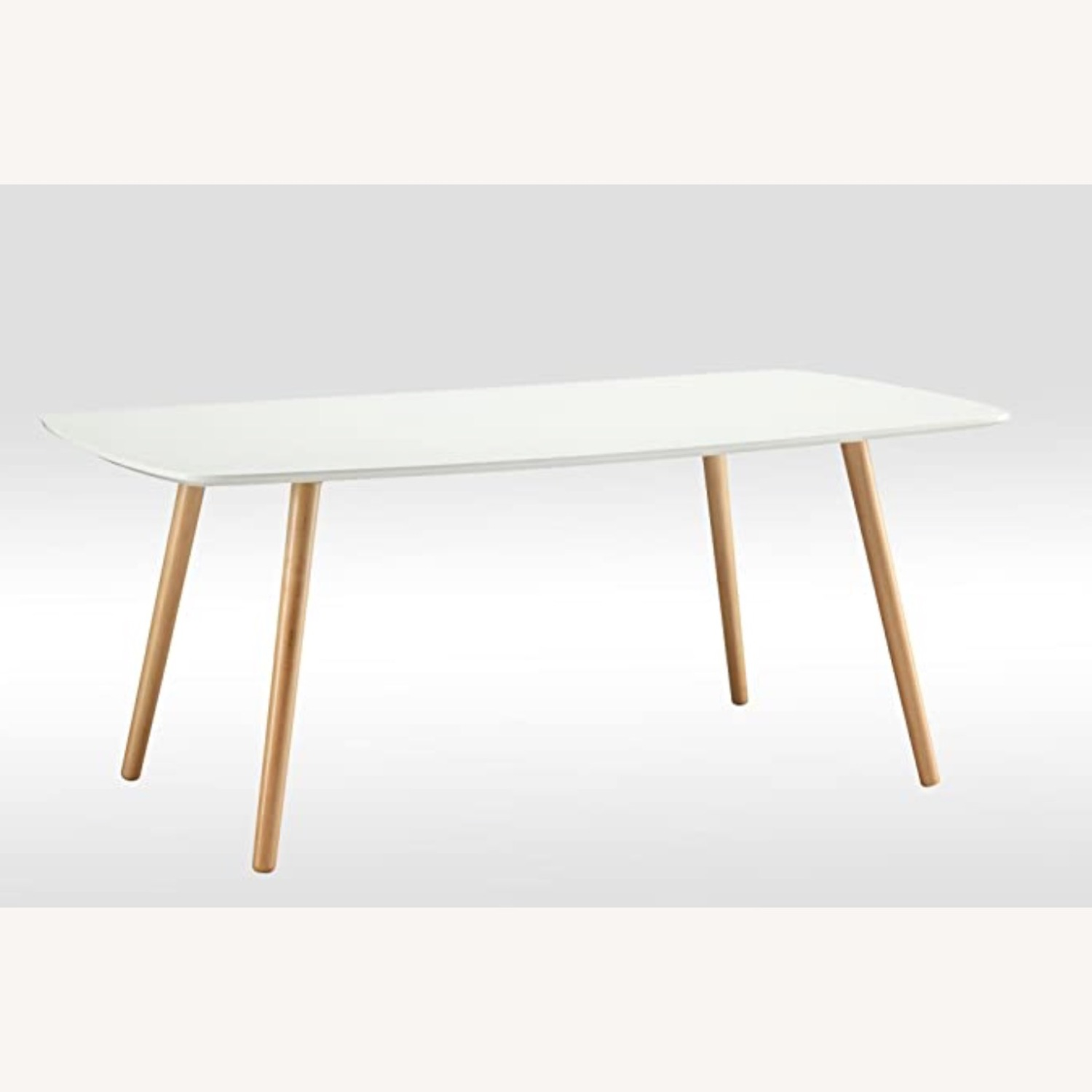White Lacquer Coffee Table - image-1