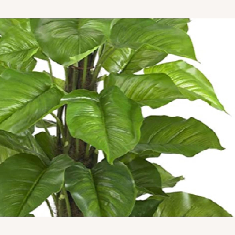 Large Leaf Decorative Silk Plant - image-3