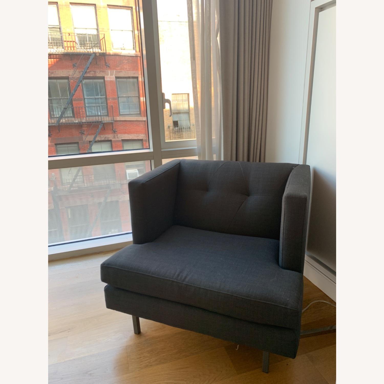 Grey Avec Accent Chair - image-1