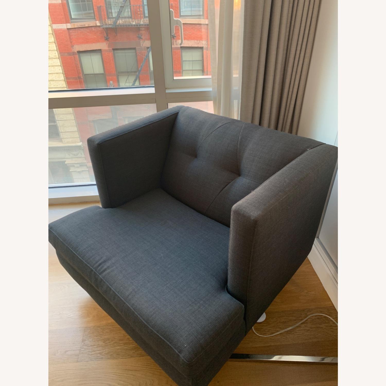 Grey Avec Accent Chair - image-3