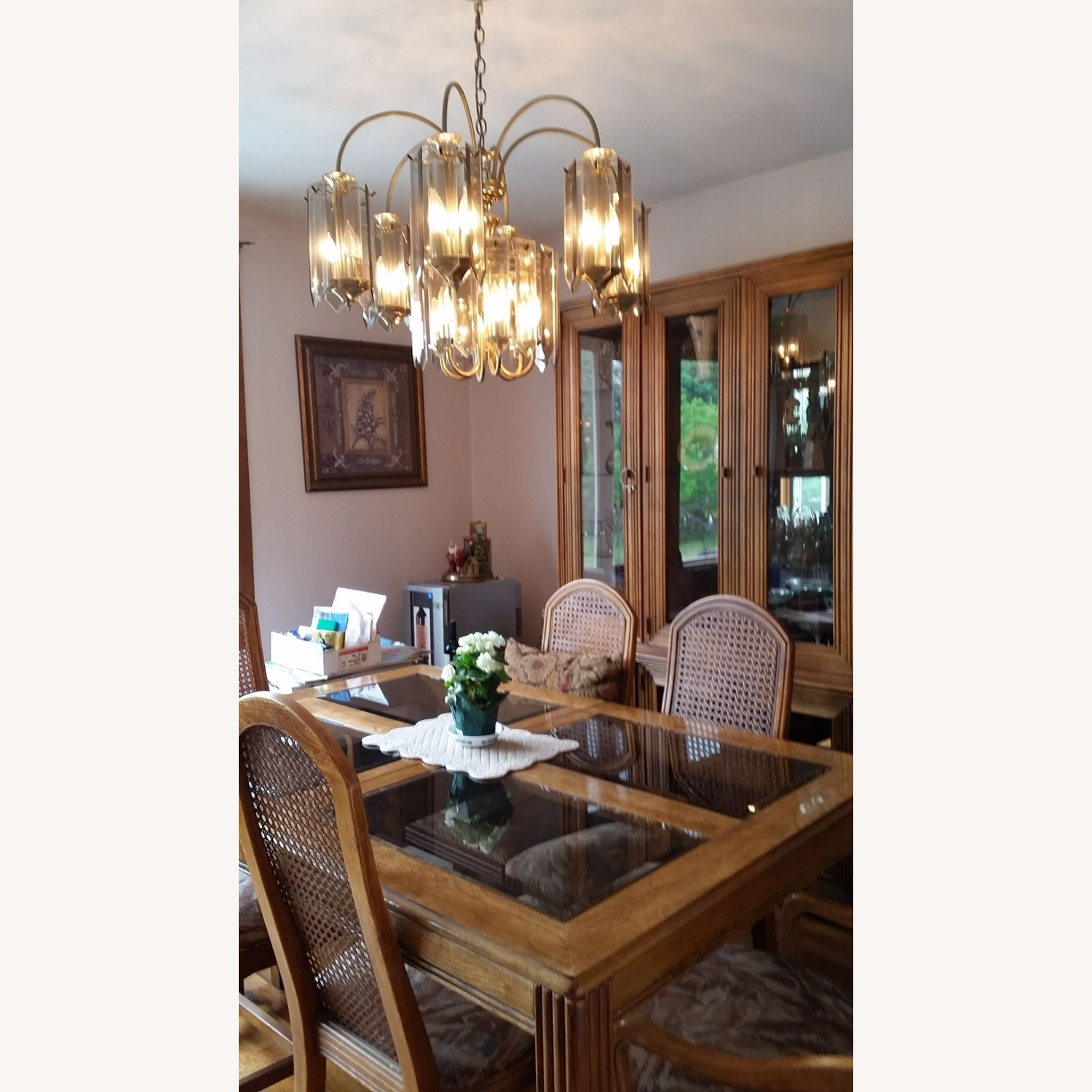 Italian Fruitwood Dining Table - image-0