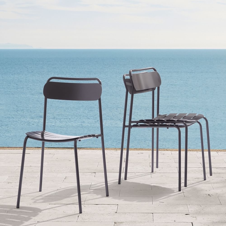 West Elm Meta Stacking Chairs SET2 - image-4