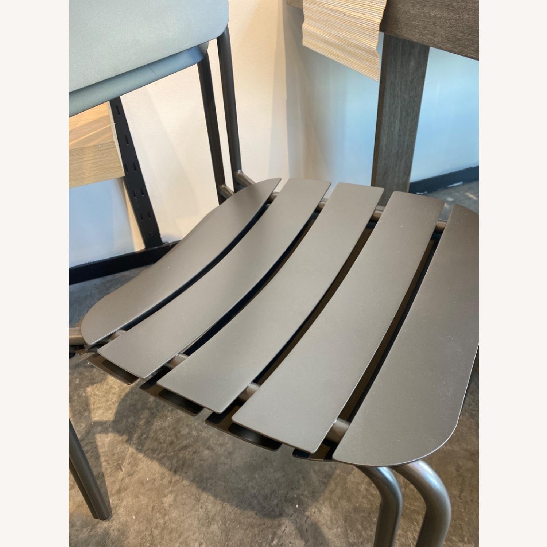 West Elm Meta Stacking Chairs SET2 - image-1