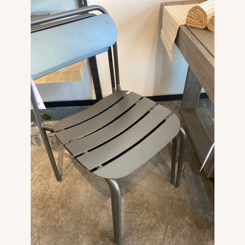 West Elm Meta Stacking Chairs SET2 - image-2