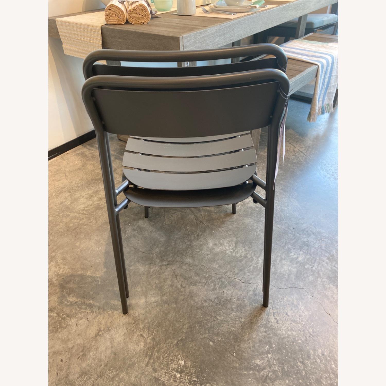 West Elm Meta Stacking Chairs SET2 - image-3