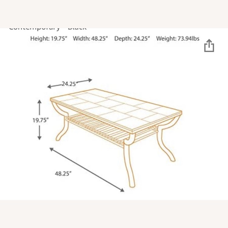 Ashley Furniture Slate Industrial Style Coffee Table Aptdeco