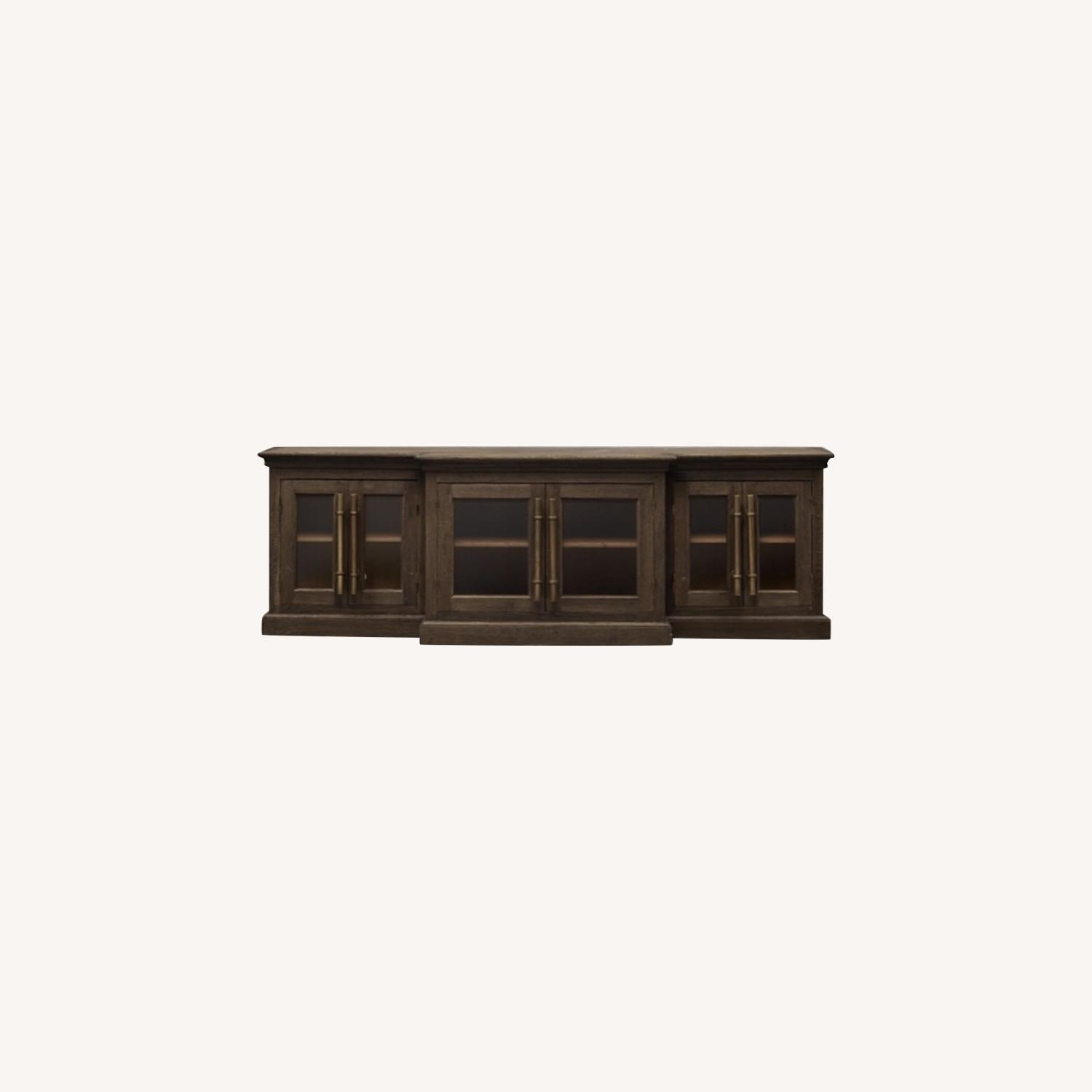 Restoration Hardware 20th C. gas Media Console - image-0