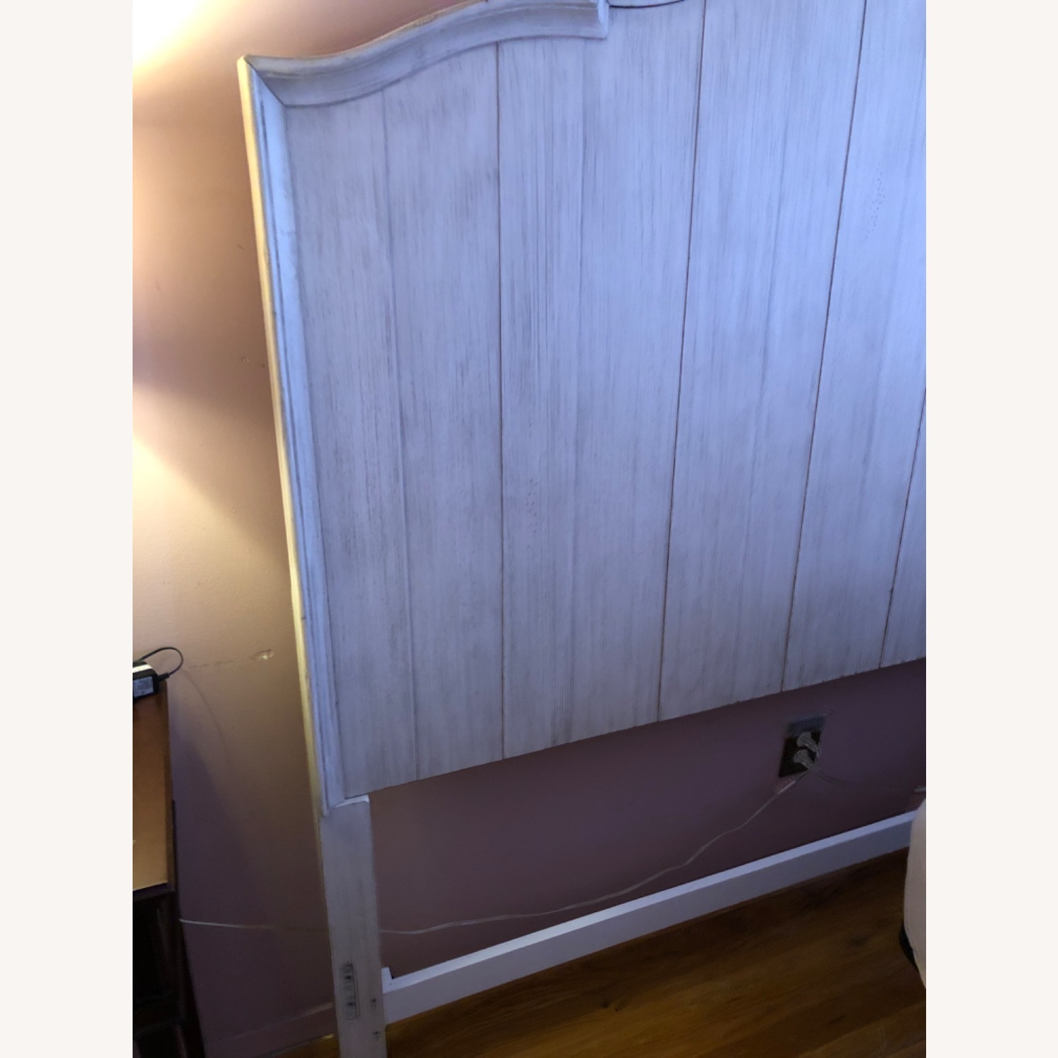 Soft Grey Wood Headboard - image-3