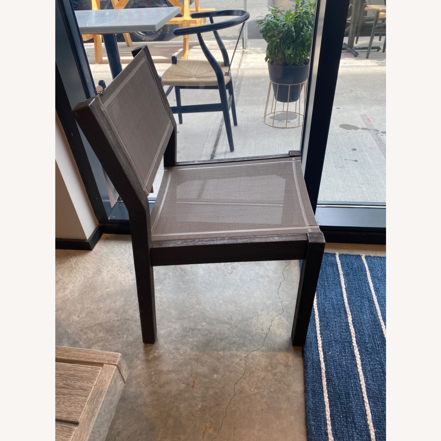 West Elm Portside Textiline Dining Chair - image-3
