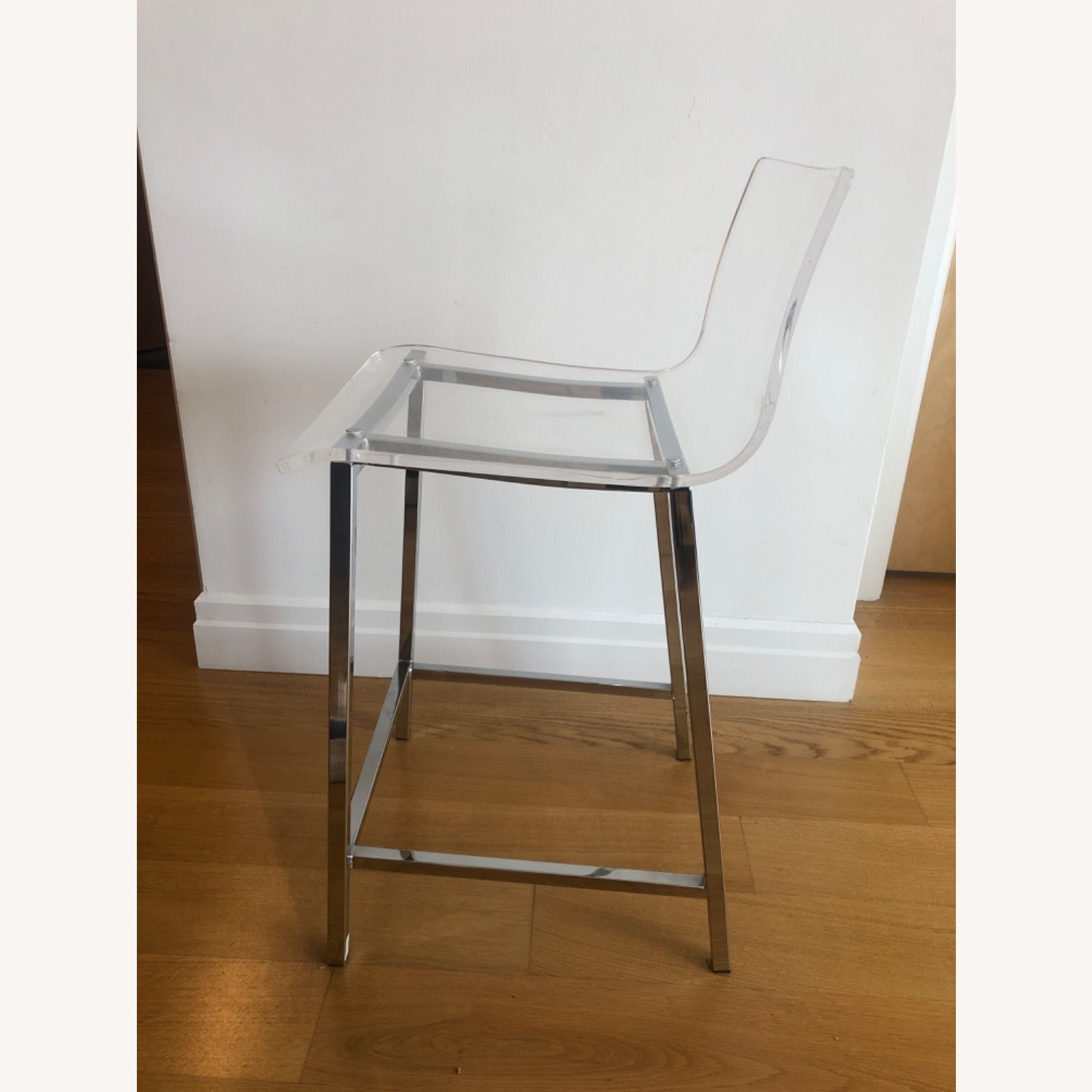 CB2 Chiaro Clear Counter Stool - image-6