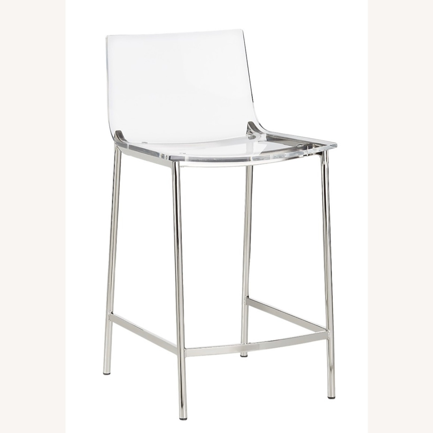 CB2 Chiaro Clear Counter Stool - image-5