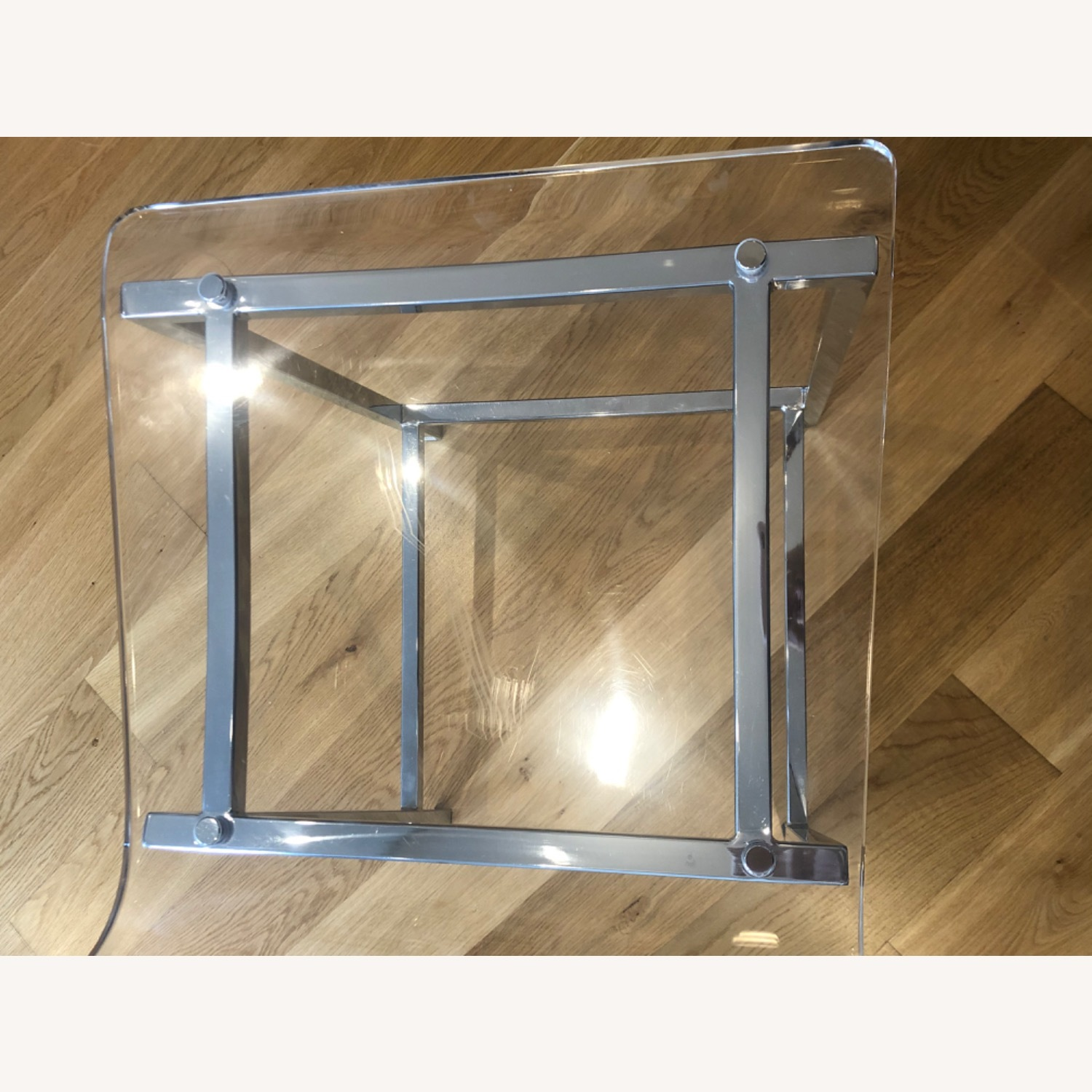 CB2 Chiaro Clear Counter Stool - image-3