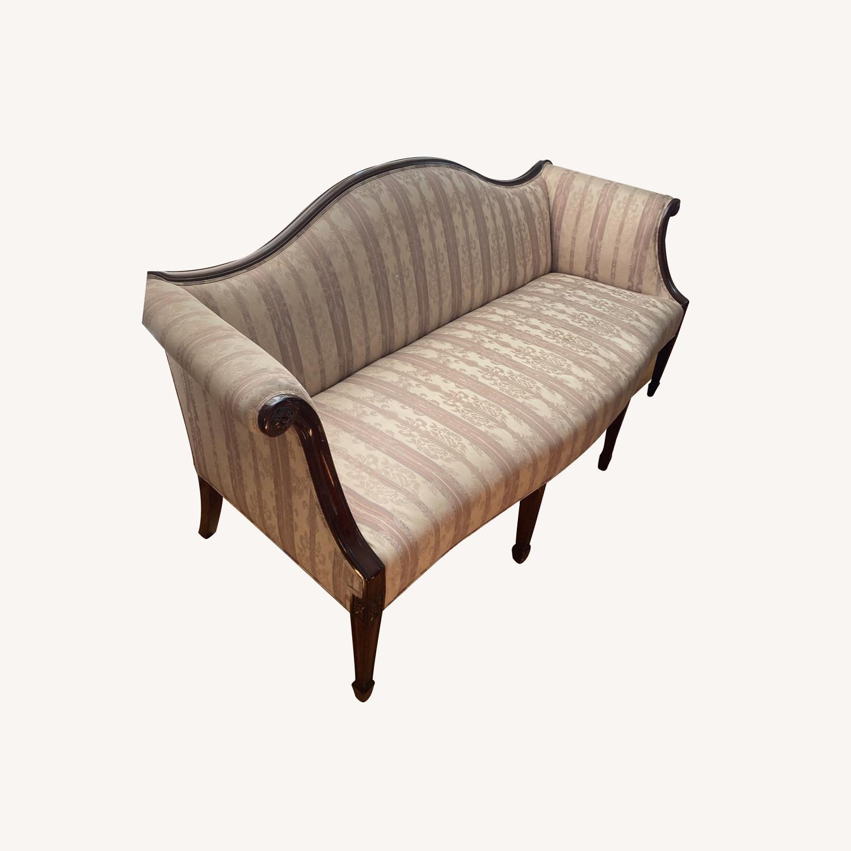 Decorative Hepplewhite Style Sofa - image-0