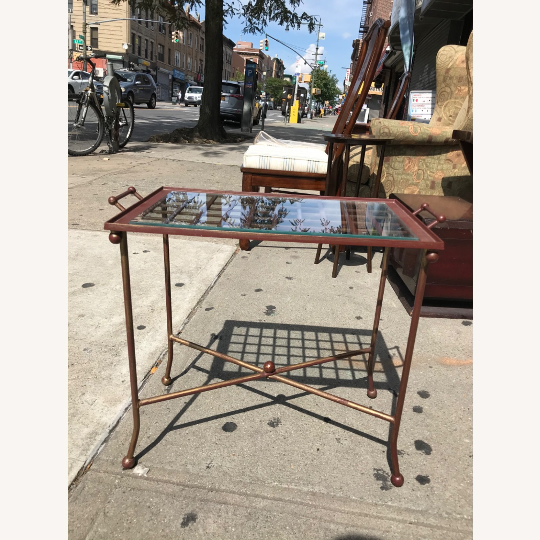 Vintage Mid Century Side Table / Tray - image-1